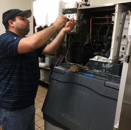 commercial ice machine repair